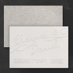 It All Shimmers Invitation